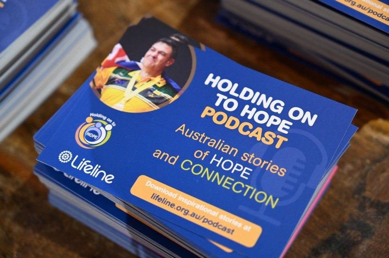 Lifeline Holding on to Hope Podcast Launch 2019 Event Photography - www.eventphotovideo.com.au
